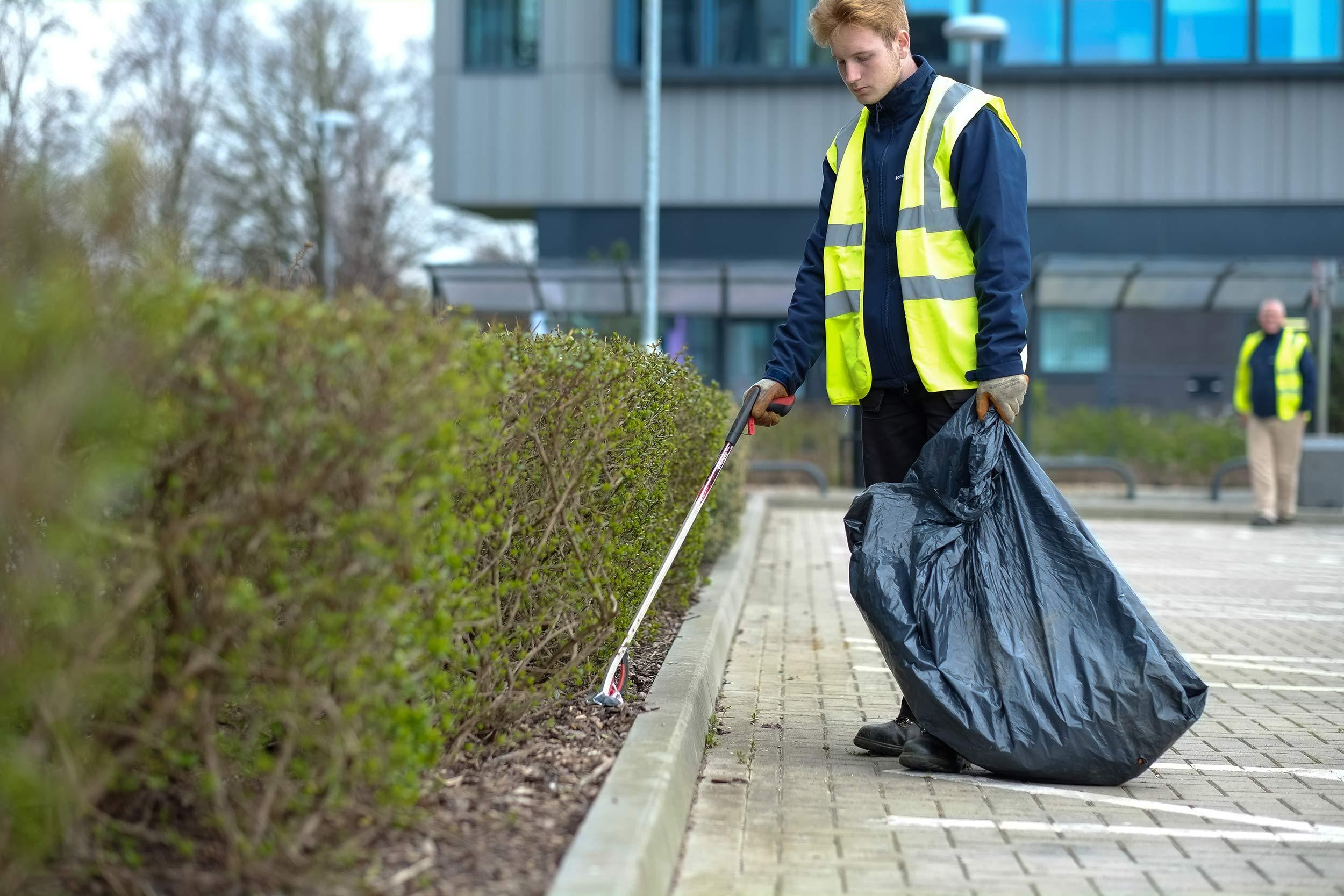 Landscape Litter Collection